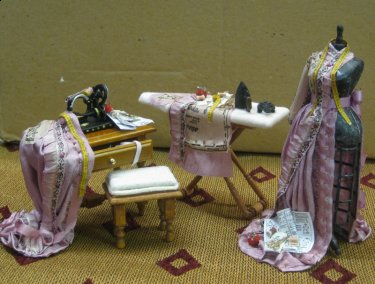 Doll House Miniature Sewing And Craft
