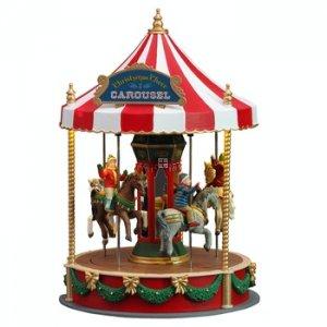 Christmas Carousel Recreation 2021 14821 Christmas Cheer Carousel Animated Preorder For 2021 14821 128 14 Christmas Everyday Where Every Day Is Christmas